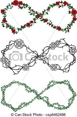 Infinity clipart drawing Made infinity Vine Vine symbols
