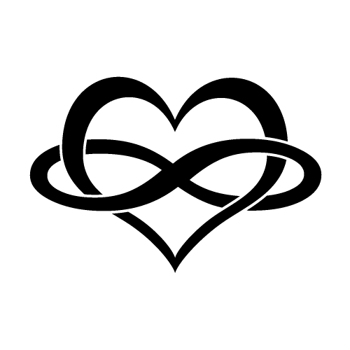 Infinity clipart family And infinity heart symbol tattoos