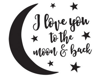 Infinity clipart i love you To you & Cricut to