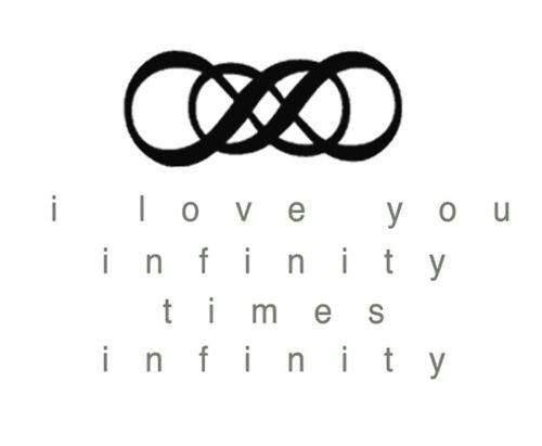 Infinity clipart i love you Infinity you times infinity I