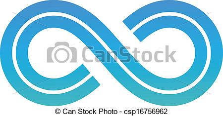Infinity clipart icon Infinity Symbol Clipart  Blue
