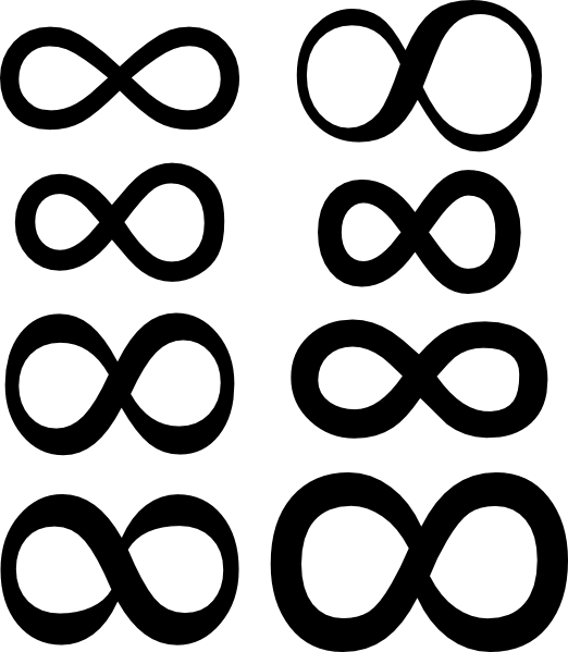 Infinity clipart infiniti Com image Clker Symbol as: