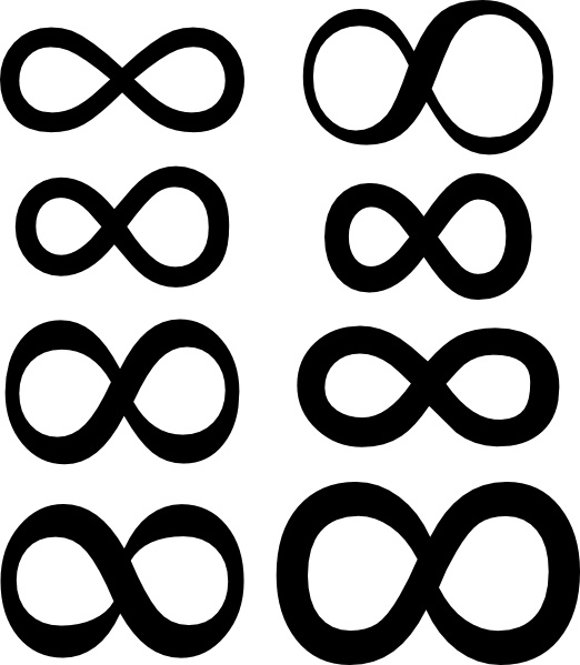 Infinity clipart infinity sign Office clip Symbol Infinity in