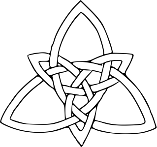 Celtic Knot clipart odin Knot Meanings Celtic (Triquetra) Knot