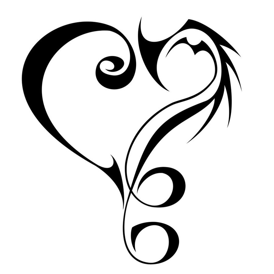 Infinity clipart love written it ClipArt  Tribal Download Free