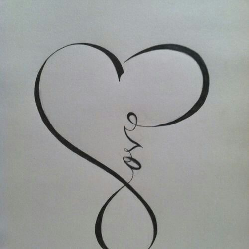 Infinity clipart love written it Ideas symbol an Calligraphy within