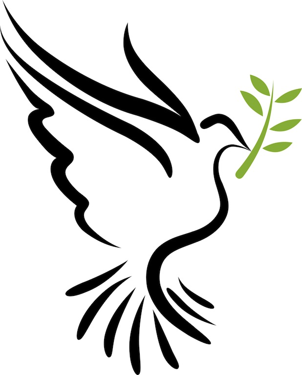 Physcedelic clipart peace bird  Kindness For Loving Symbol