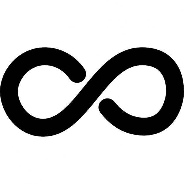 Infinity clipart mathematics Icon symbol Infinite mathematical symbol