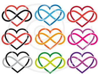 Infinity clipart never ending Ending love Etsy infinity forever