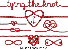 Infinity clipart rope Rope dividers hearts of and