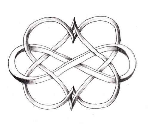 Infinity clipart selflessness Meaning and tattoos Celtic ideas
