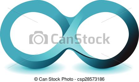 Infinity clipart unlimited Icon  infinity of vector
