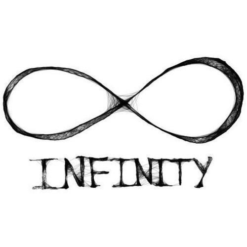 Infinity clipart we heart it Favim infinity text image forever