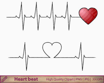 Love clipart heartbeat #3