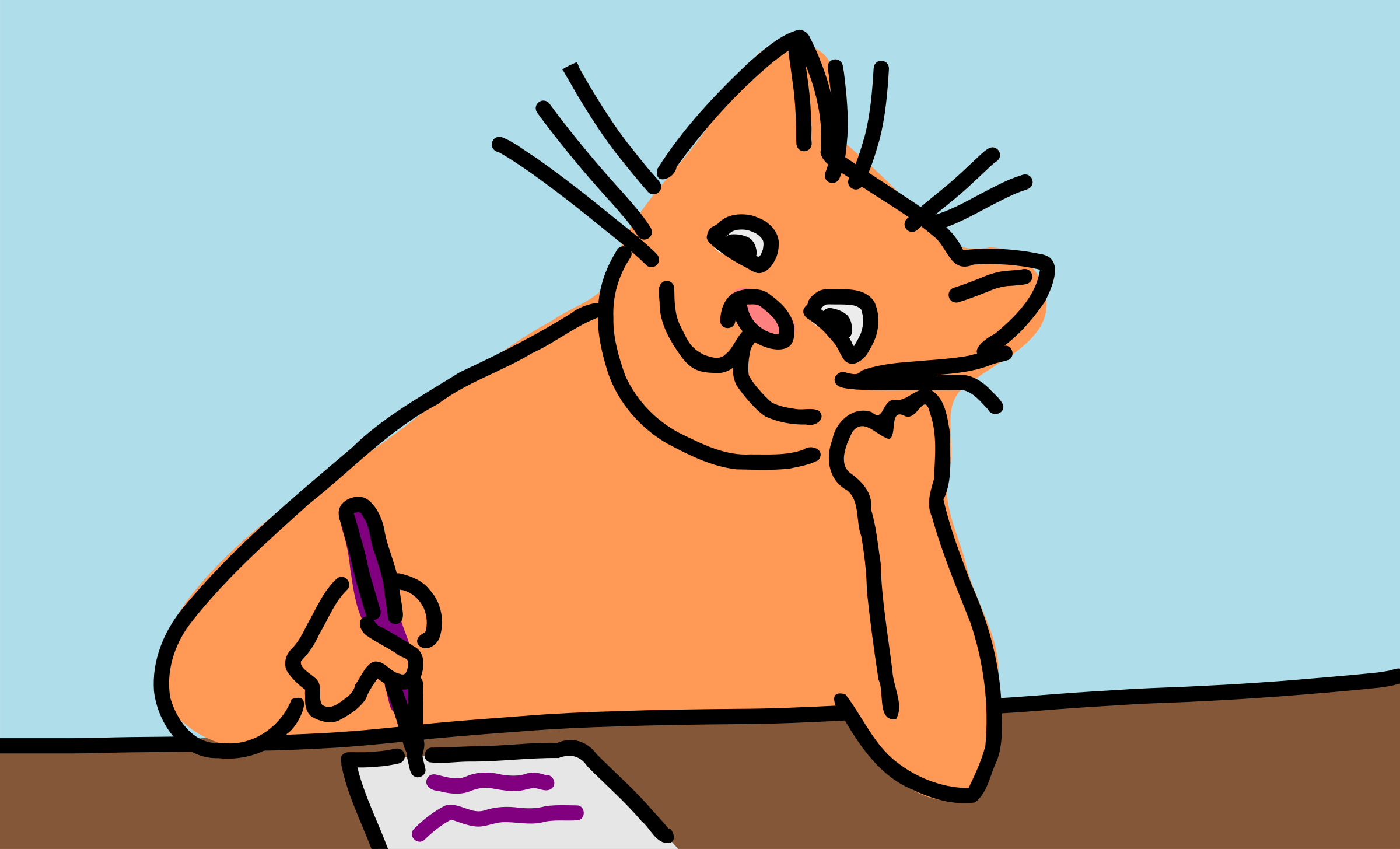 Infinity clipart writing Writing Free Clipart cat Clipartix