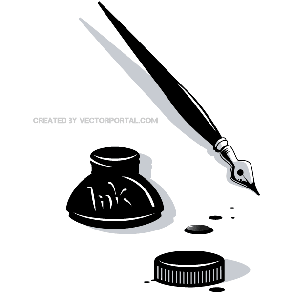 Ink clipart #12