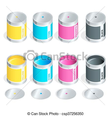Ink clipart can #13