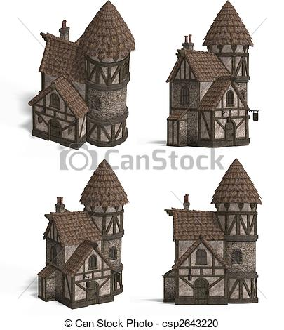Inn clipart Old an Inn Views Houses