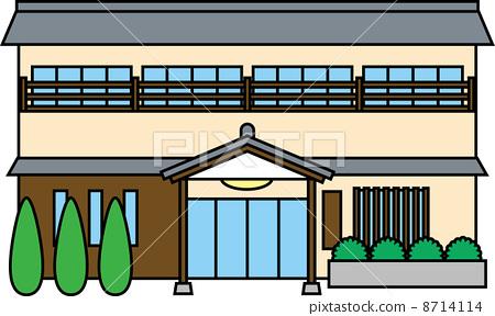 Inn clipart  japanese Stock japanese japanese