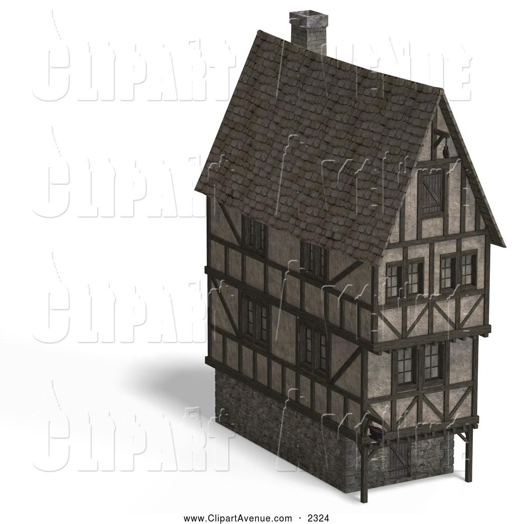Mansion clipart large Tudor Avenue Stock House Medieval