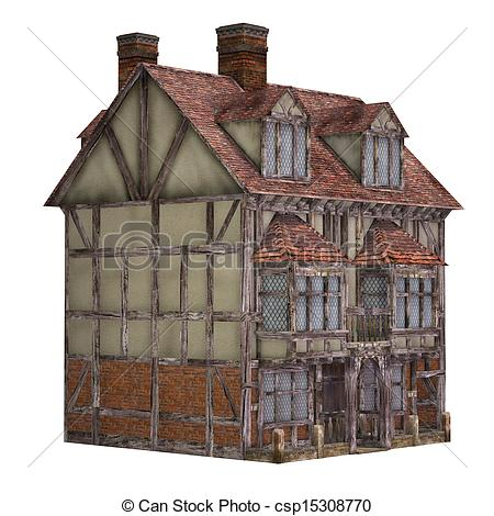 Medieval clipart medieval city House Views on  background