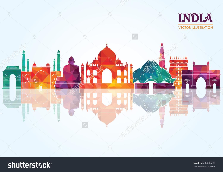 Inn clipart skyline Google google india india India