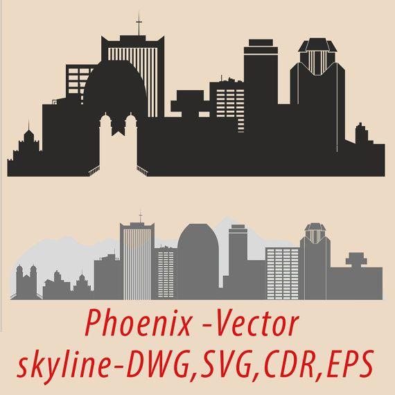 Inn clipart skyline Phoenix Vector Pinterest Phoenix Phoenix