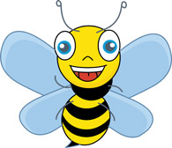 Bugs clipart bee Bee bee Clipart insects insects