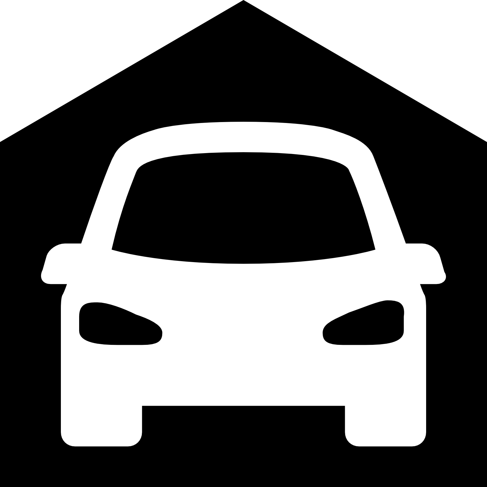 Inside clipart auto garage Free car a house of