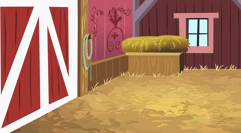Inside clipart barn