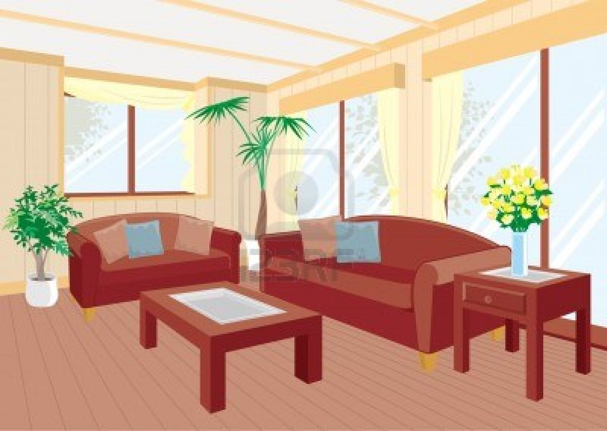 Bedroom clipart house interior Room Family Decoration Bedroom Clip