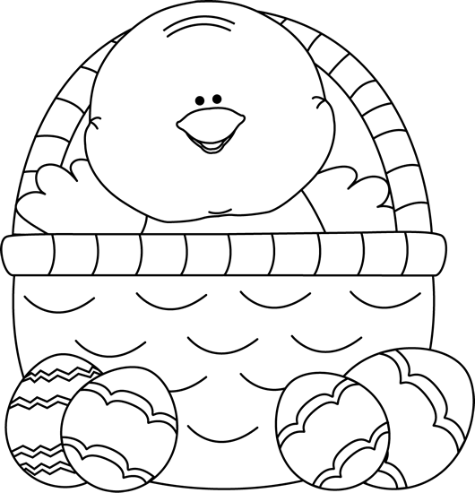 Inside clipart black and white Art Chick Clip Chick Black