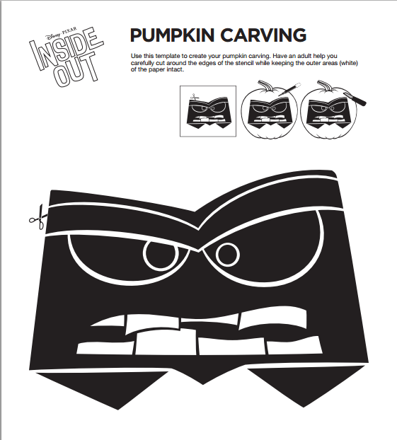 Inside clipart carved pumpkin Halloween and Out Inside
