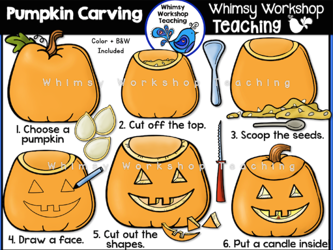 Inside clipart carved pumpkin Art To clip Carve Teaching
