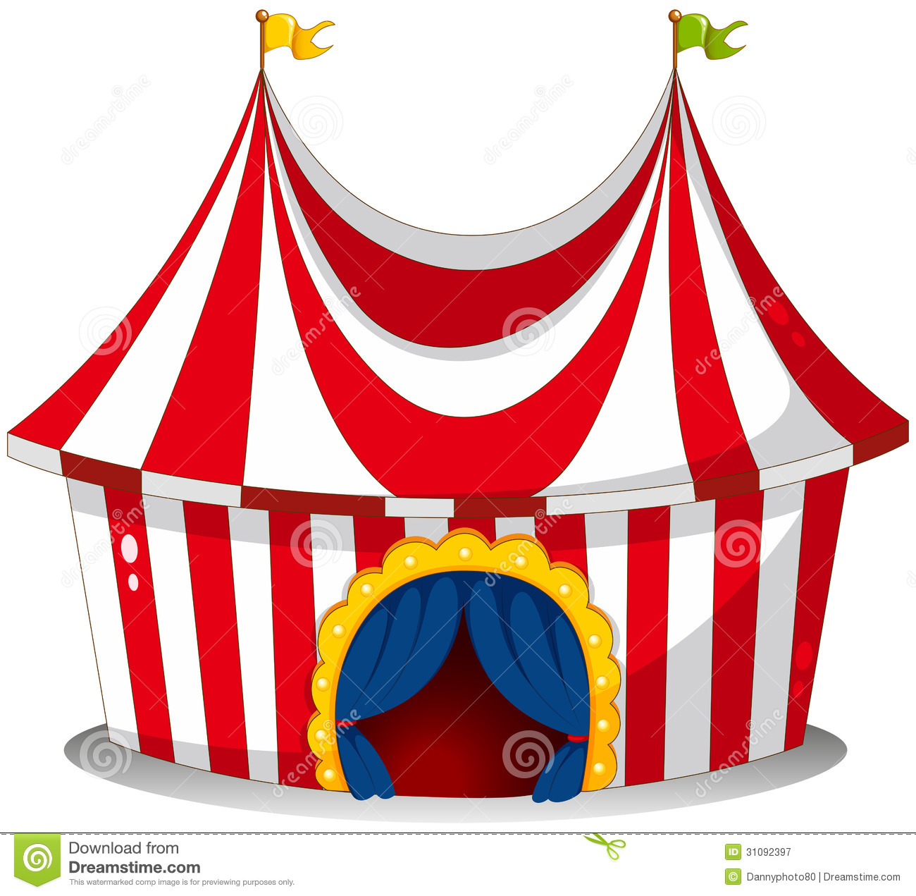 Inside clipart circus Free  Clipart Circus Tent