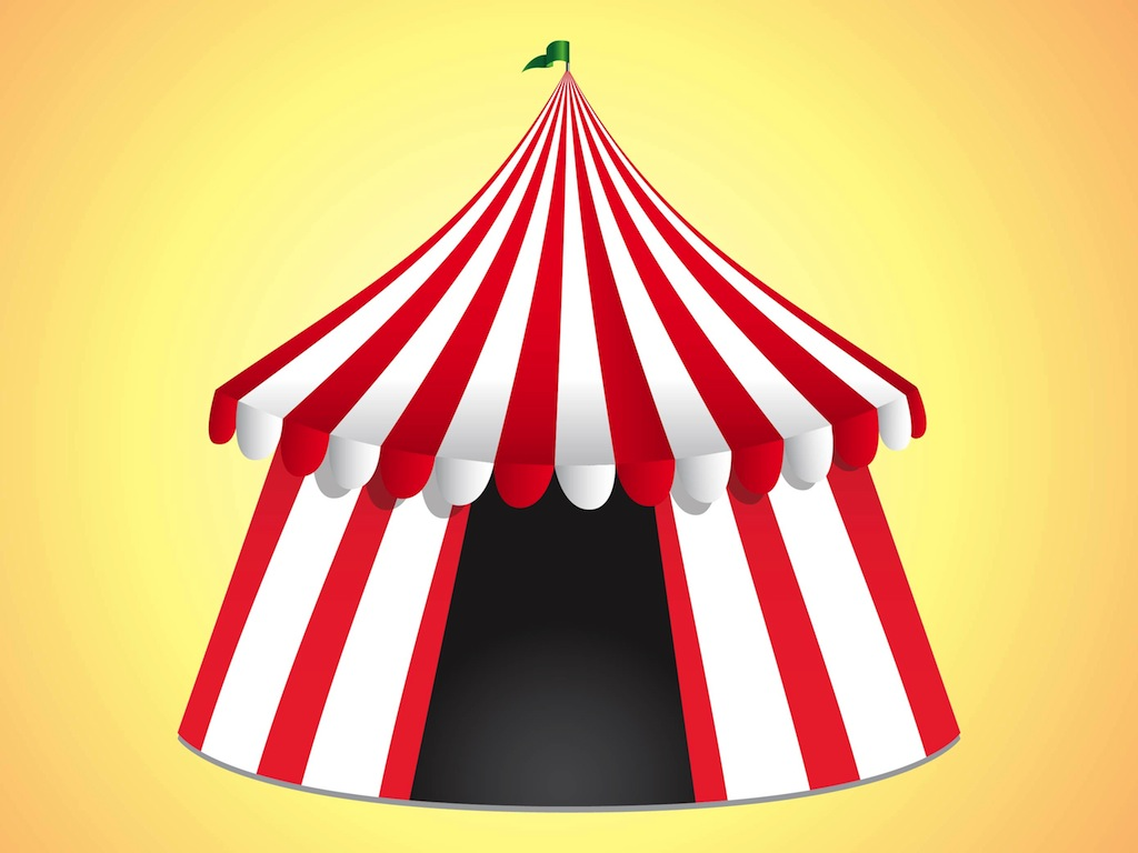 Inside clipart circus Hostted Tent Circus 66 tent