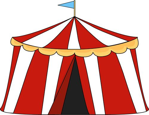 Inside clipart circus Amelia Art on and tent