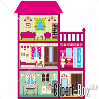 Inside clipart doll house Clipart house inside – clipart