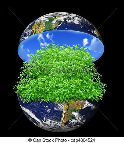 Inside clipart earth Earth a earth on Stock