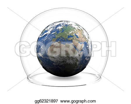 Inside clipart earth Isolated Earth glass image elements