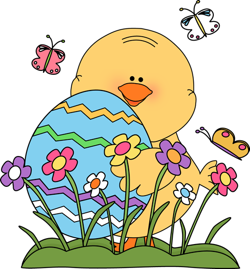 Chicken clipart spring chick Chick Art Spring Easter Chick