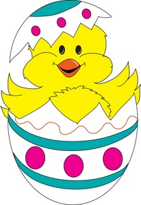 Inside clipart easter chick A Illustration Cute A Cute