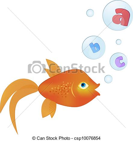 Inside clipart goldfish Bubbles with Clipart  Goldfish