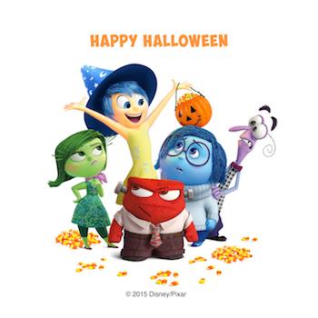 Inside clipart holloween Inside_Out=Print=Holiday_Character_Art===Worldwide=Halloween_Group_small  Disney•Pixar's Out! Halloween
