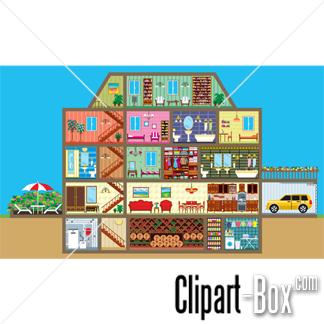 Inside clipart house interior House clip Interior art Clipart