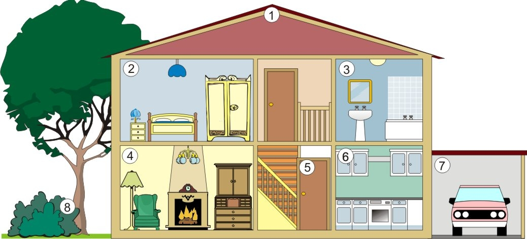 Hosue clipart part the house Cliparts Free House Clip House