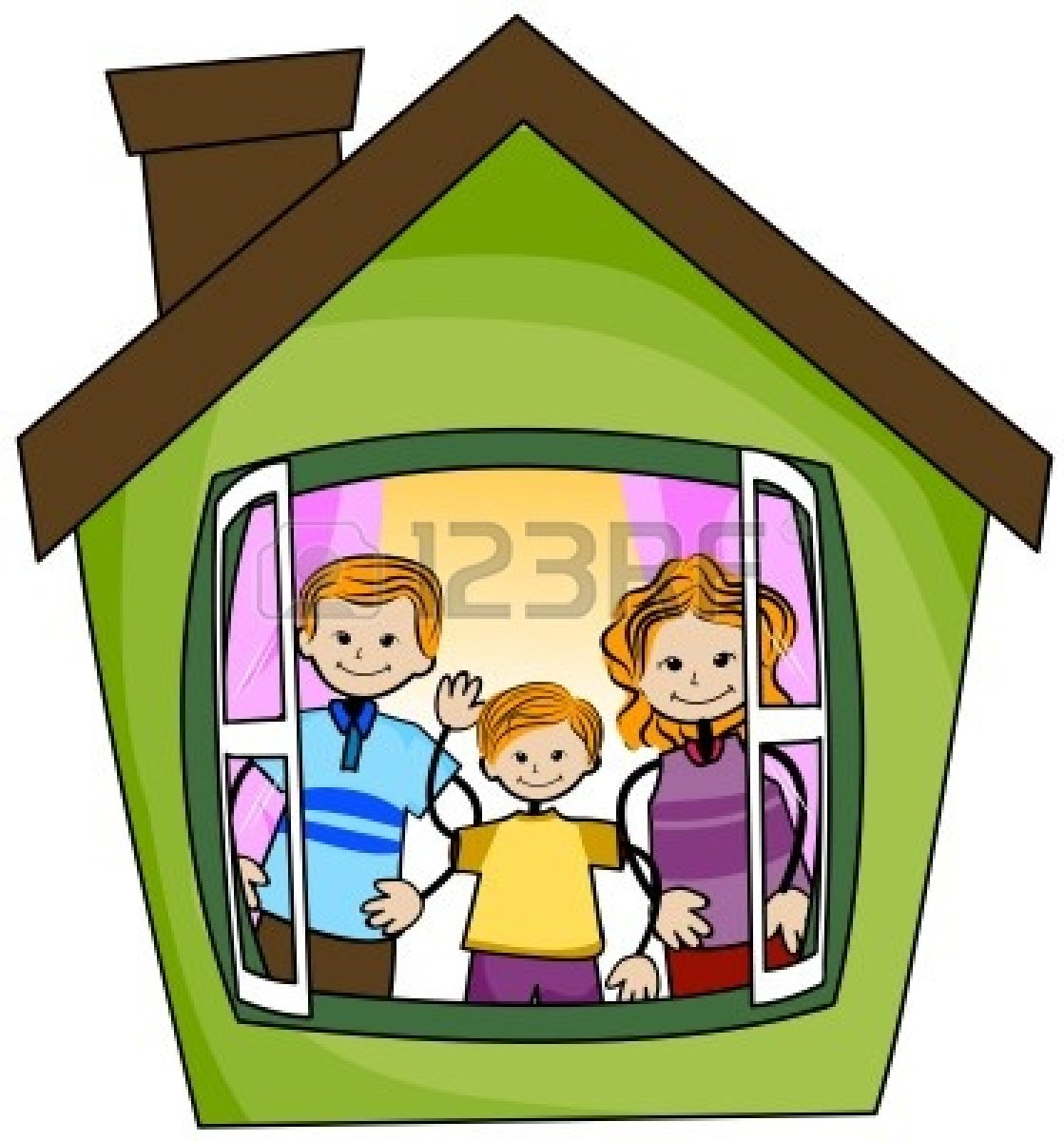 Bungalow clipart my house Inside House on Images Download