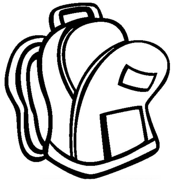 Inside clipart open backpack Clipart School Clipartix images Free