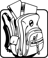 Inside clipart open backpack Clipart Open Clipart Free Pictures