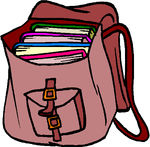 Inside clipart open backpack #canstock13335507 booking  clipart Free
